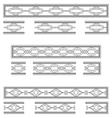 Decorative bands vector