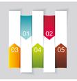 Modern design template vertical banners vector