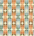 Vintage bright geometric seamless pattern elliptic vector