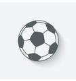Soccer sport icon vector