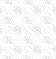White simple wavy with small details seamless vector