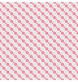 Chic seamless pattern pink white vector