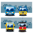 City transport vector