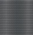 Metal hexagon background vector