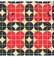 Colorful ornamental tattered textile geometric vector