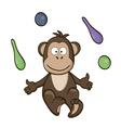 Circus monkey vector