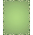 Green ancient certificate background vector