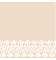 Beige background with decorative border vector