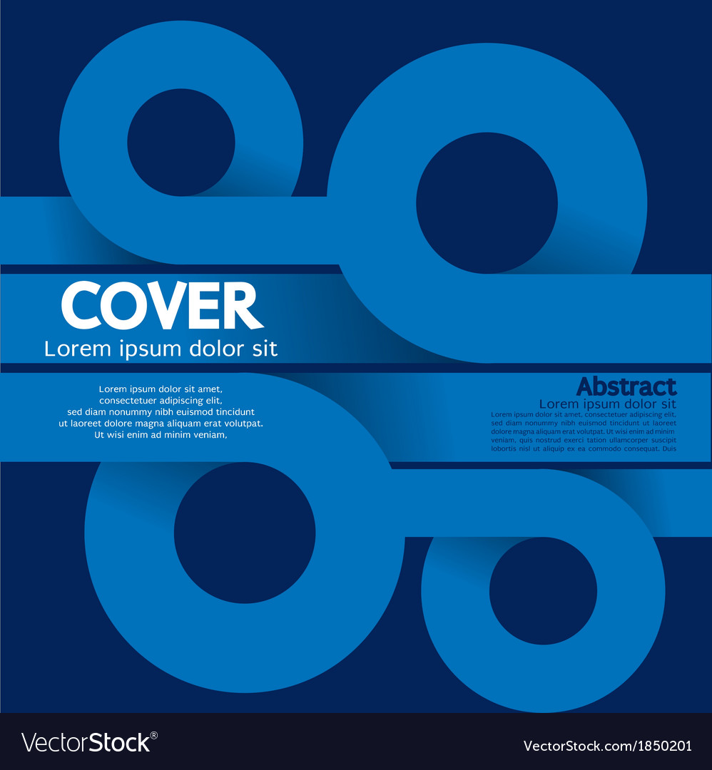 Cover or flyer design vector | Price: 1 Credit (USD $1)