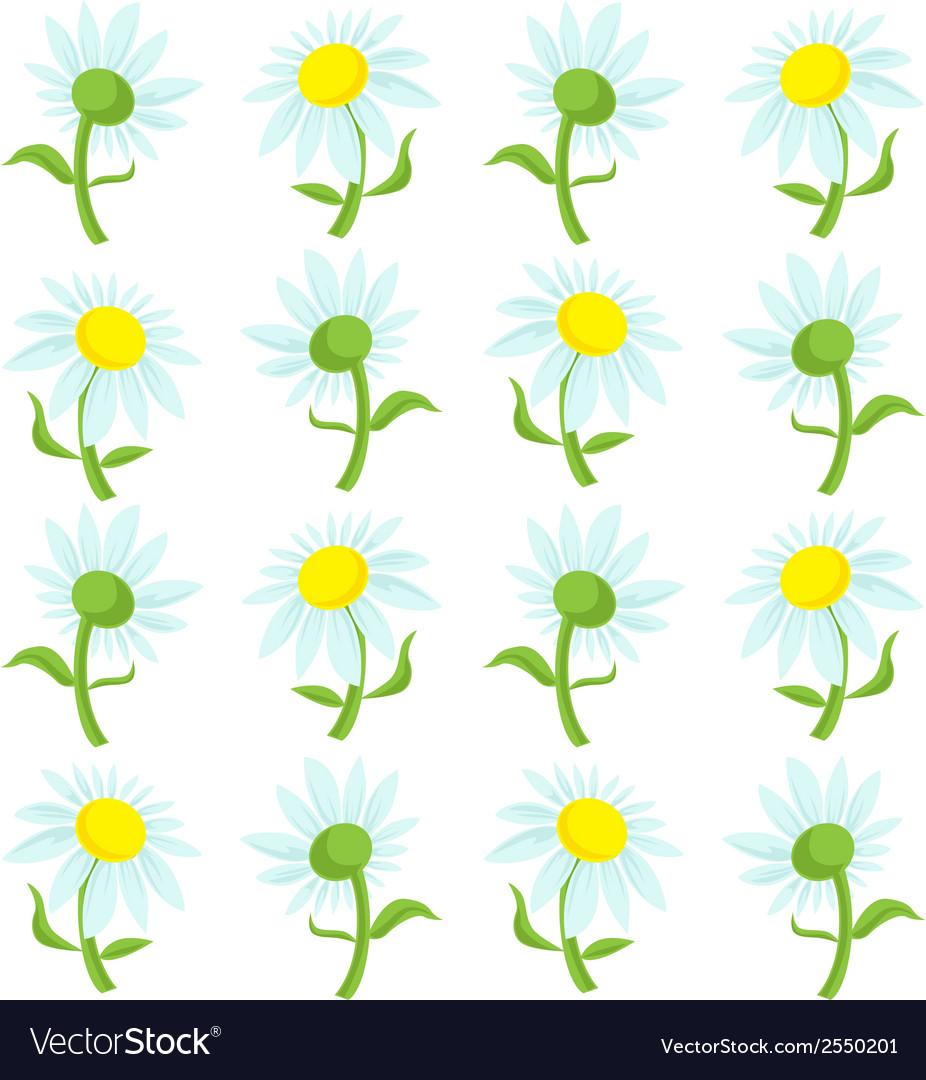 Flower cartoon vector | Price: 1 Credit (USD $1)