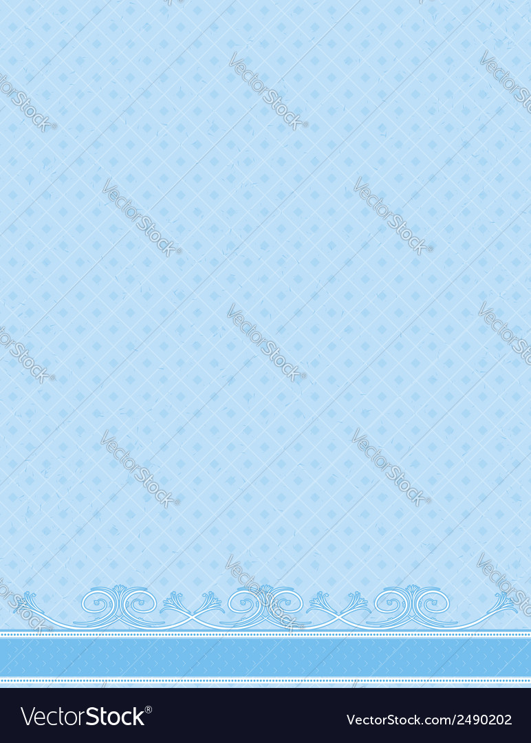 Blue antique background vector | Price: 1 Credit (USD $1)