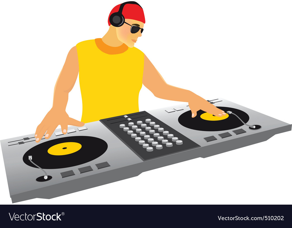 Dj in the mix vector | Price: 1 Credit (USD $1)
