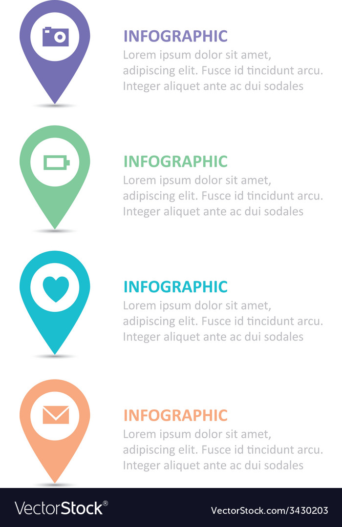 Infographic 185 vector | Price: 1 Credit (USD $1)