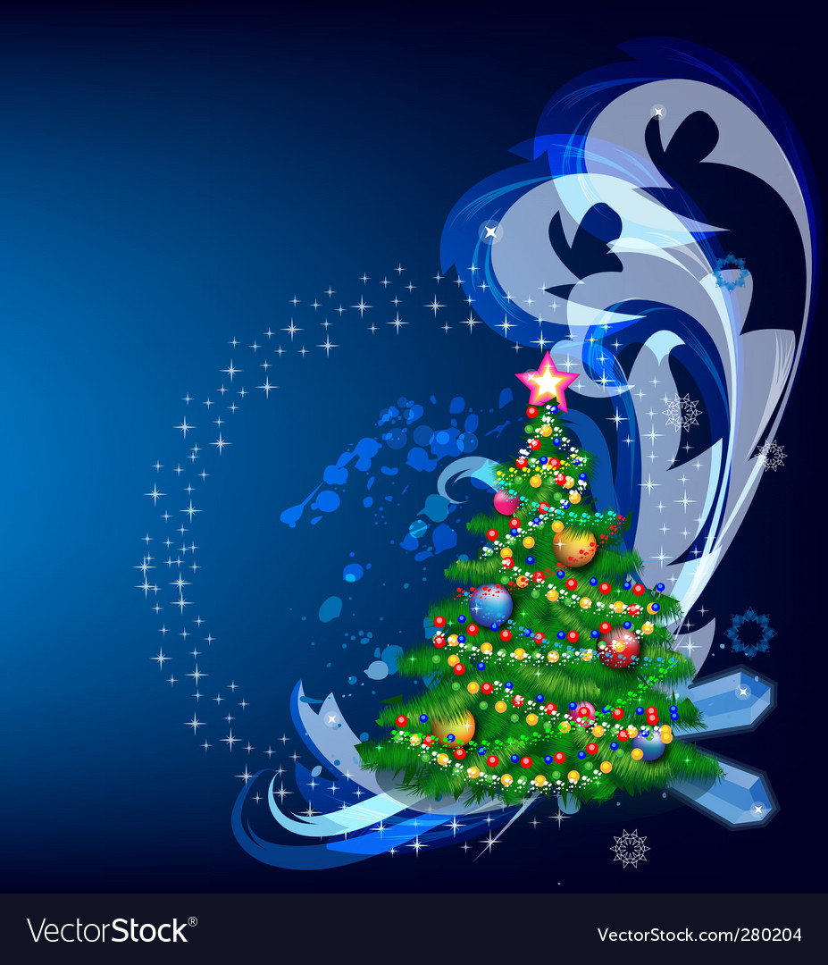 Abstract christmas design vector | Price: 3 Credit (USD $3)