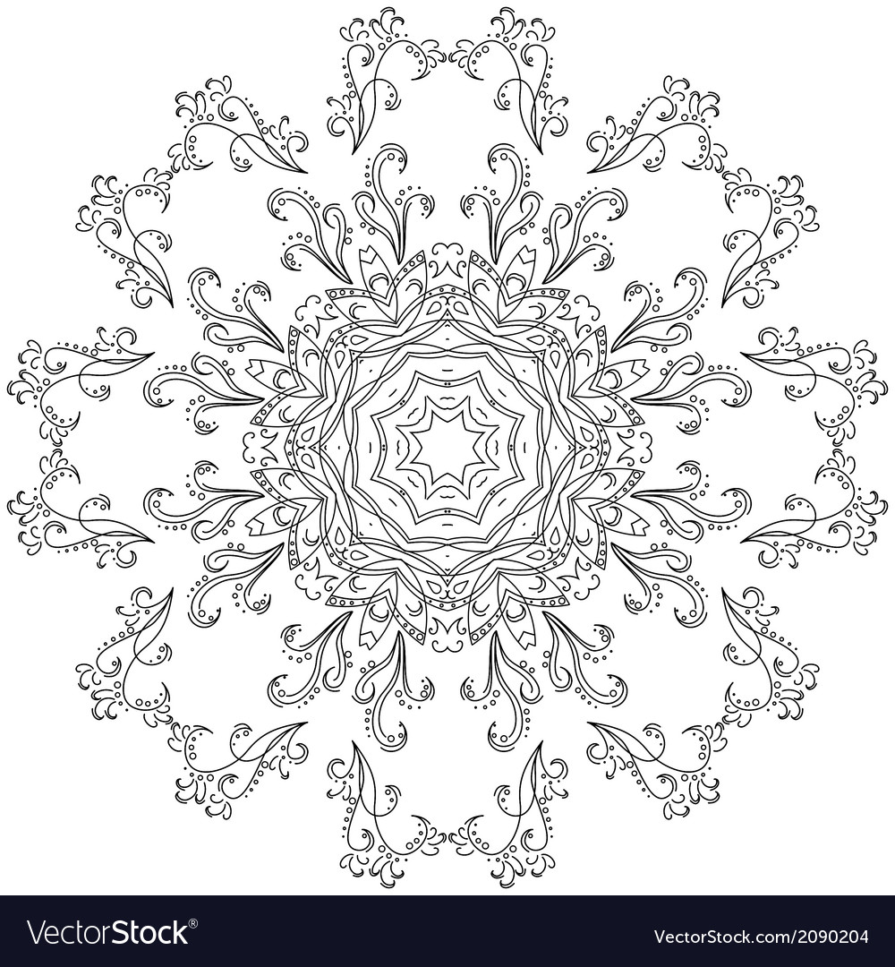 Abstract pattern contours vector   Price: 1 Credit (USD $1)