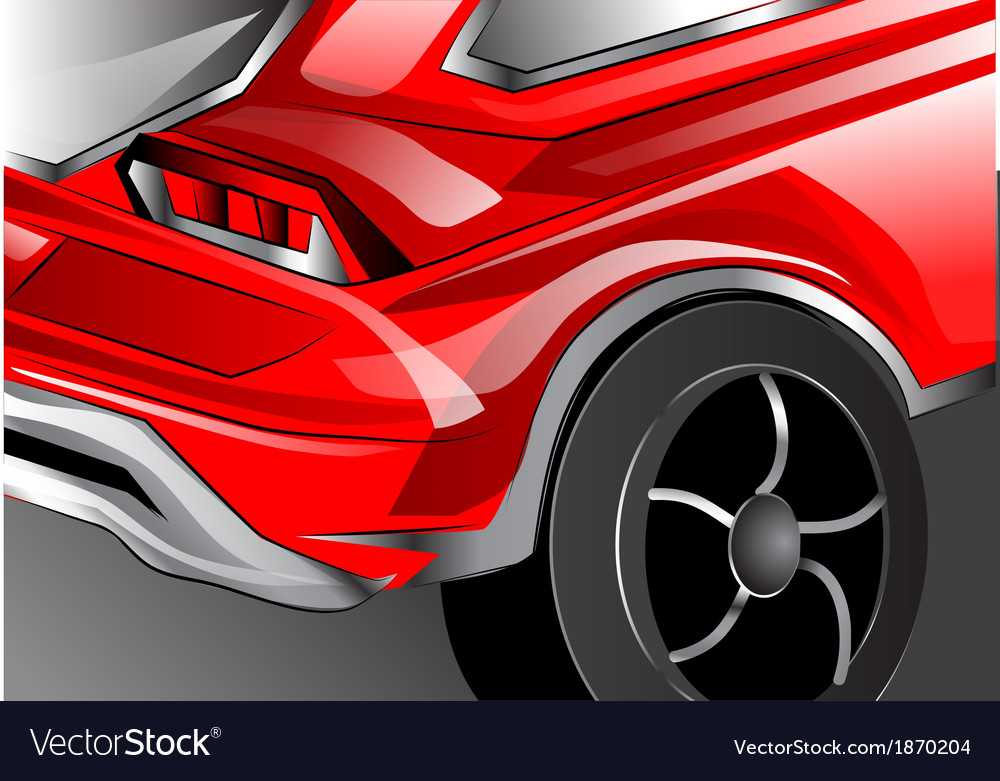 Fragment of car vector | Price: 1 Credit (USD $1)