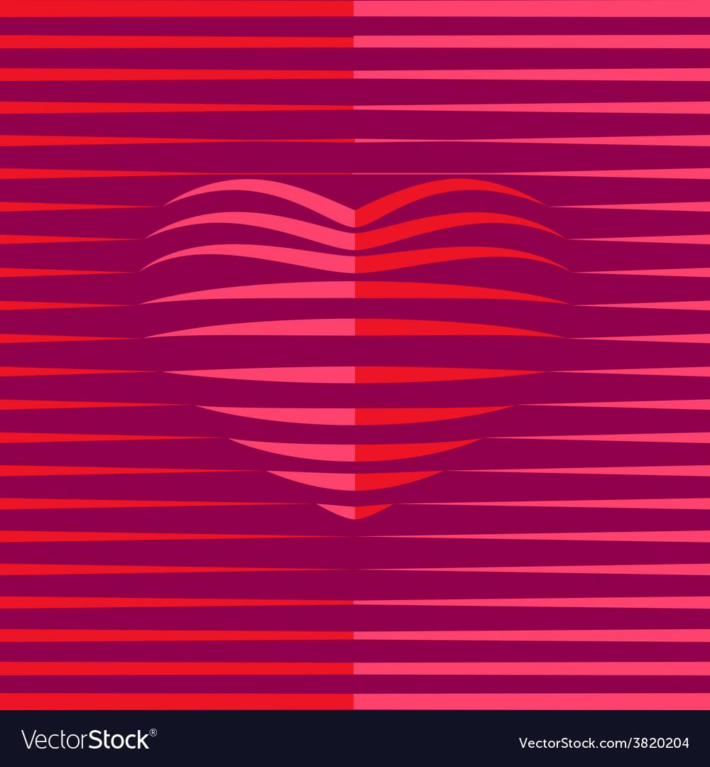 Heart shape vector | Price: 1 Credit (USD $1)
