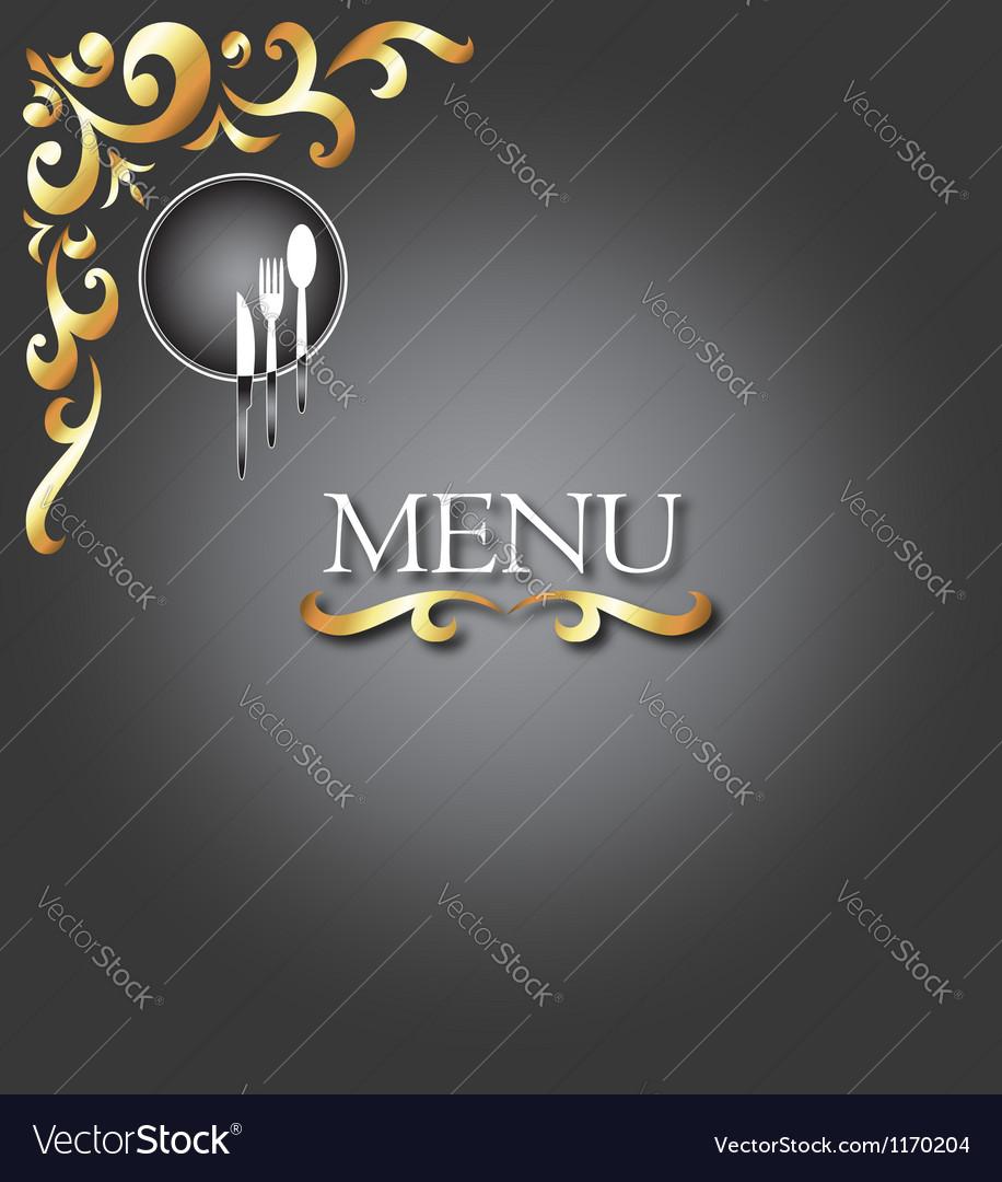 Menu design vector | Price: 1 Credit (USD $1)
