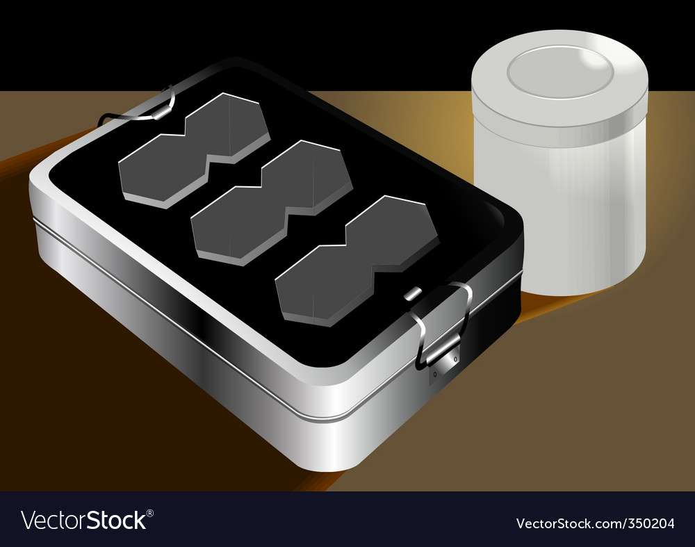 Tiffin and can vector | Price: 1 Credit (USD $1)