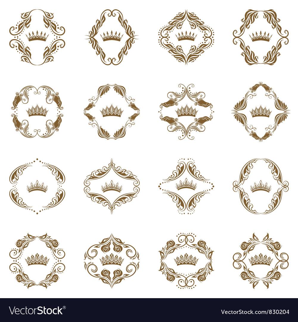 Victorian crown vector | Price: 1 Credit (USD $1)