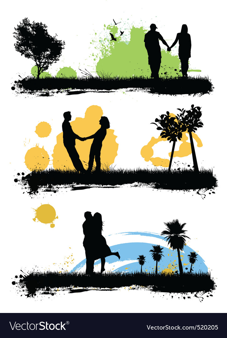 Couple love vector | Price: 1 Credit (USD $1)