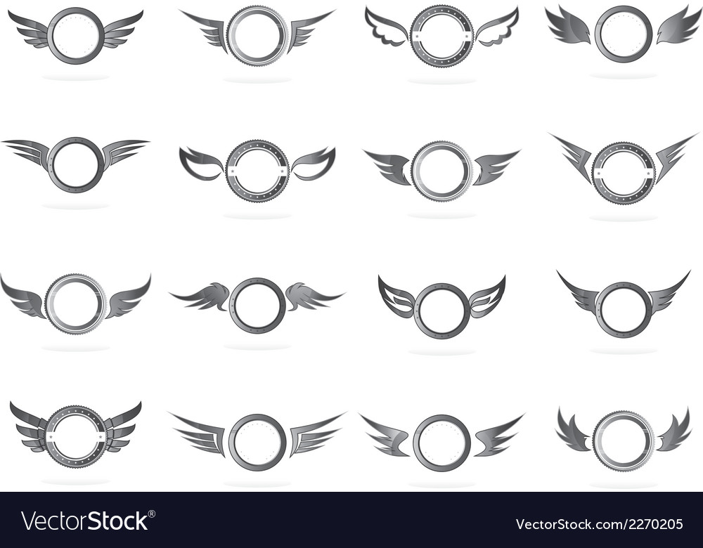 Wing art vector | Price: 1 Credit (USD $1)