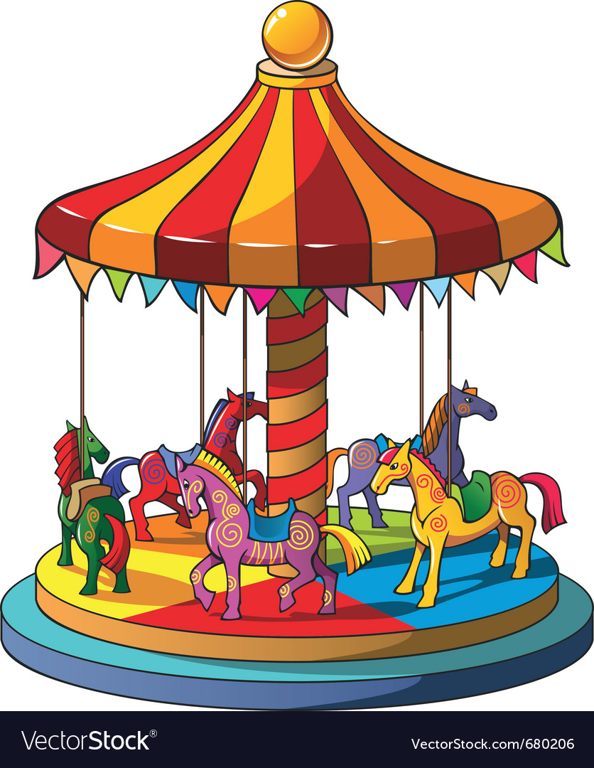 Carousel vector | Price: 3 Credit (USD $3)