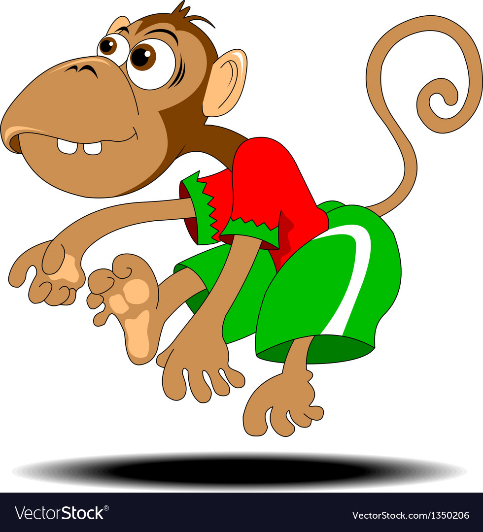 Dancing monkey vector   Price: 1 Credit (USD $1)