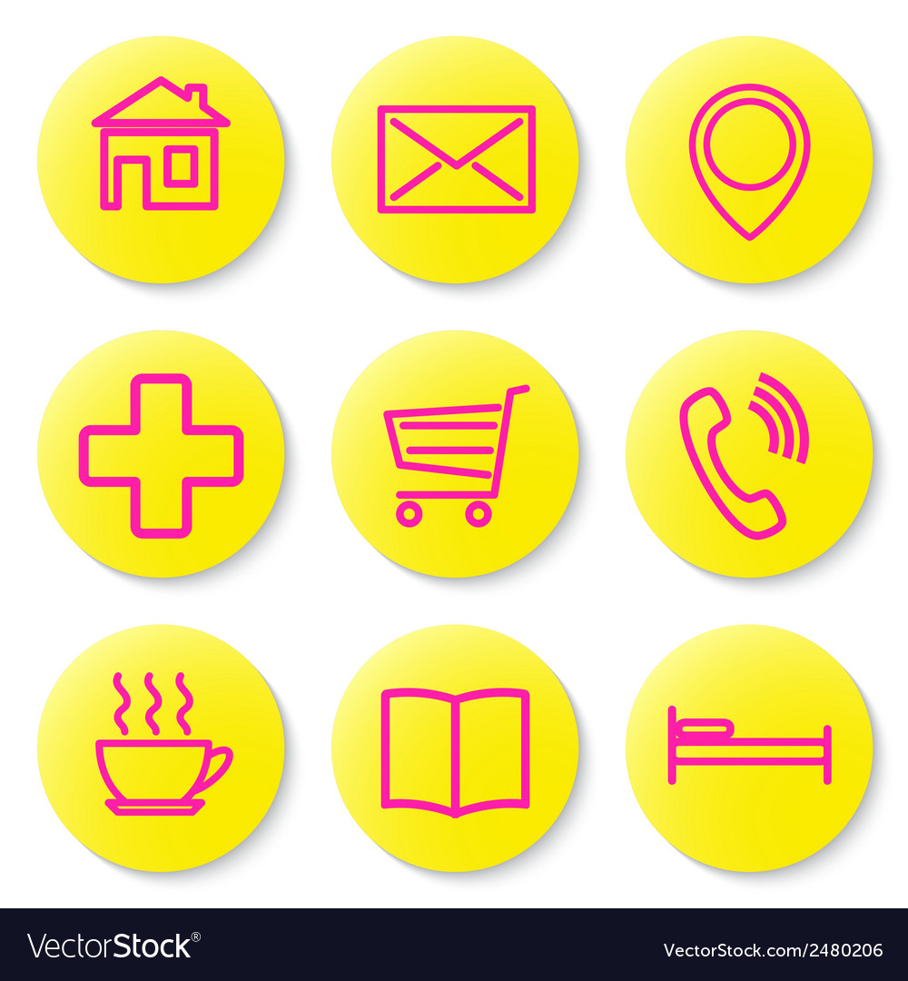 Set of icons for the card vector | Price: 1 Credit (USD $1)