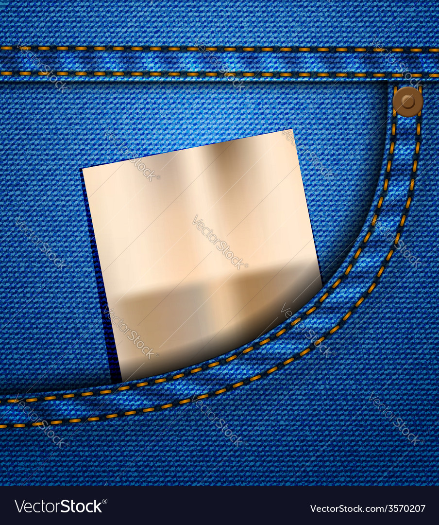 Jeans pocket vector | Price: 1 Credit (USD $1)