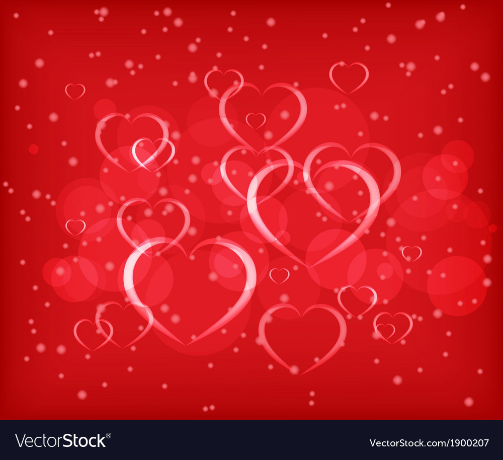 Valentines day abstract background vector | Price: 1 Credit (USD $1)