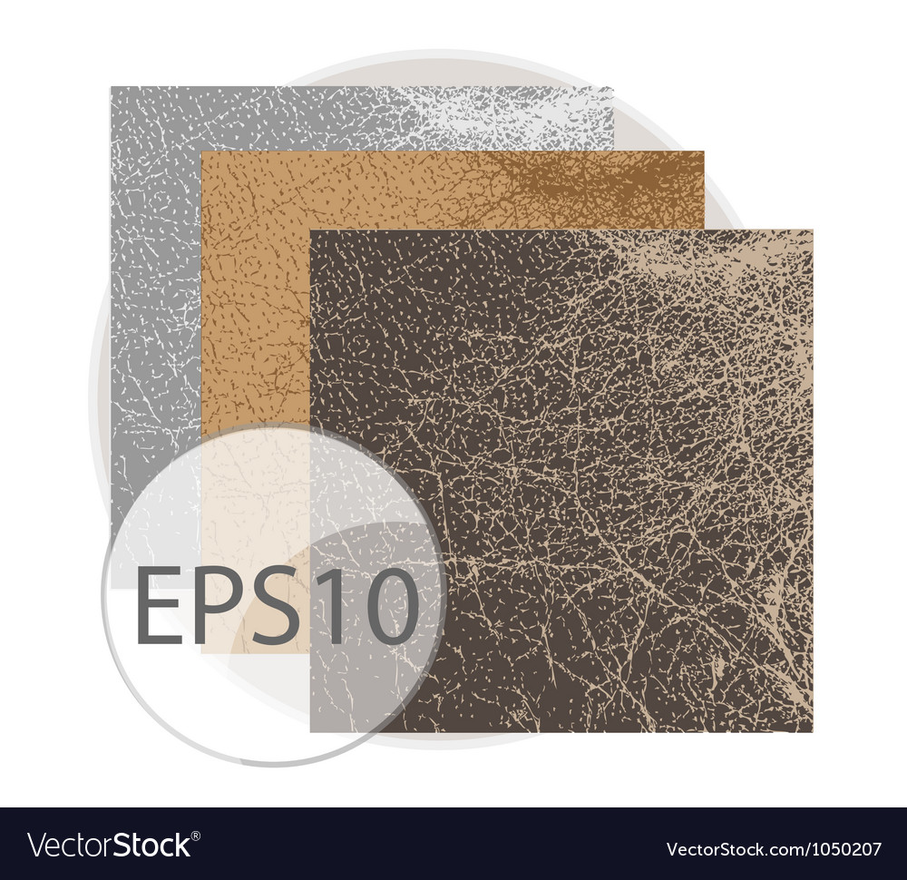 Vintage abstract and natural leather texture vector