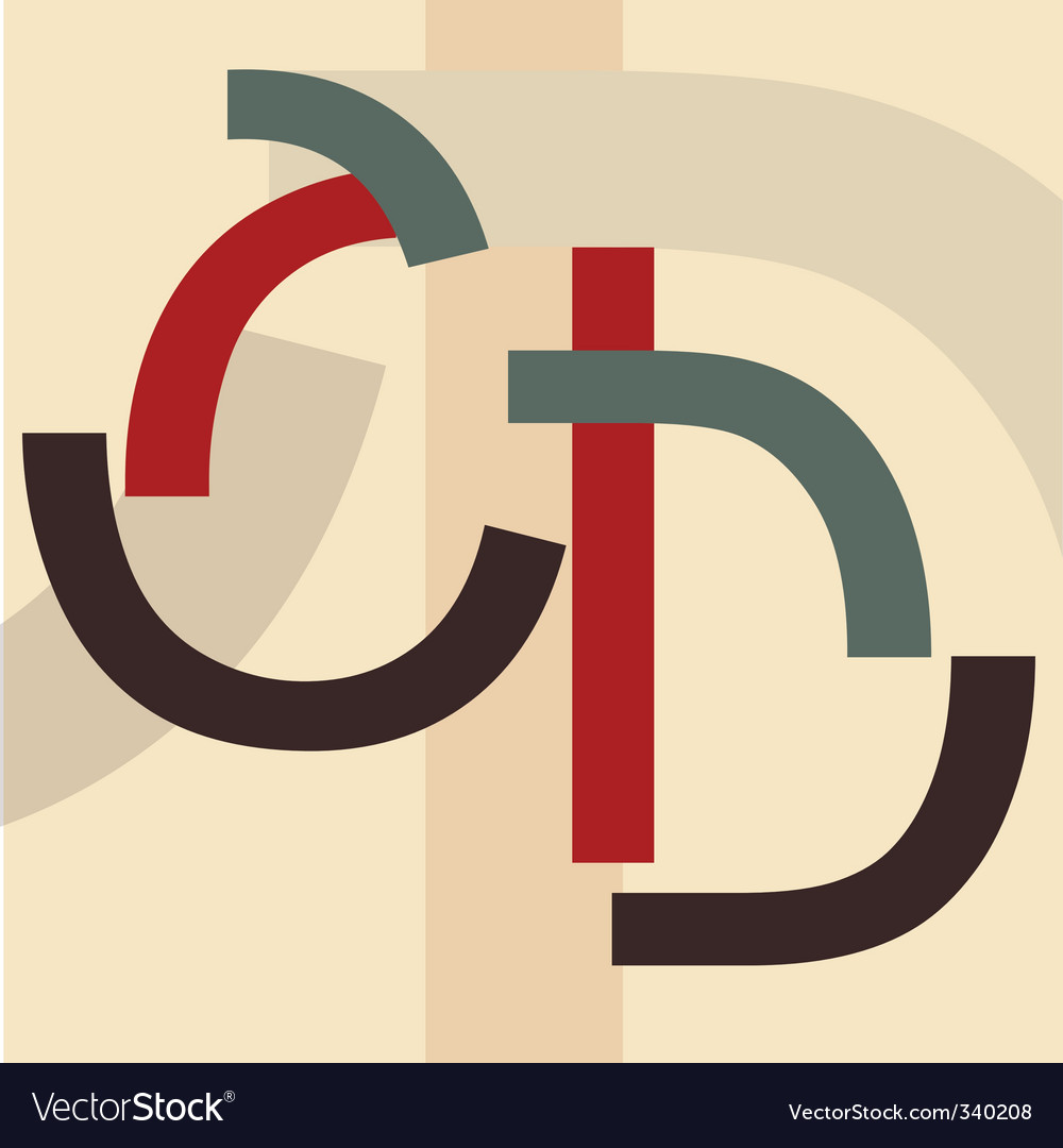 Alphabet c d vector | Price: 1 Credit (USD $1)