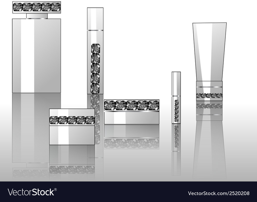 Background with perfumes vector | Price: 3 Credit (USD $3)