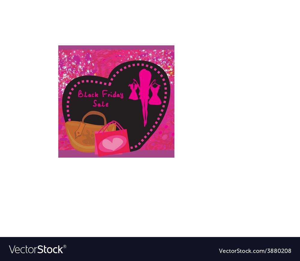 Black friday sale card vector   Price: 1 Credit (USD $1)
