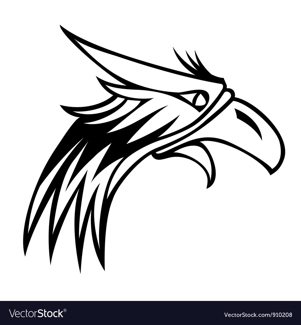 Eagle mascot logo vector | Price: 1 Credit (USD $1)