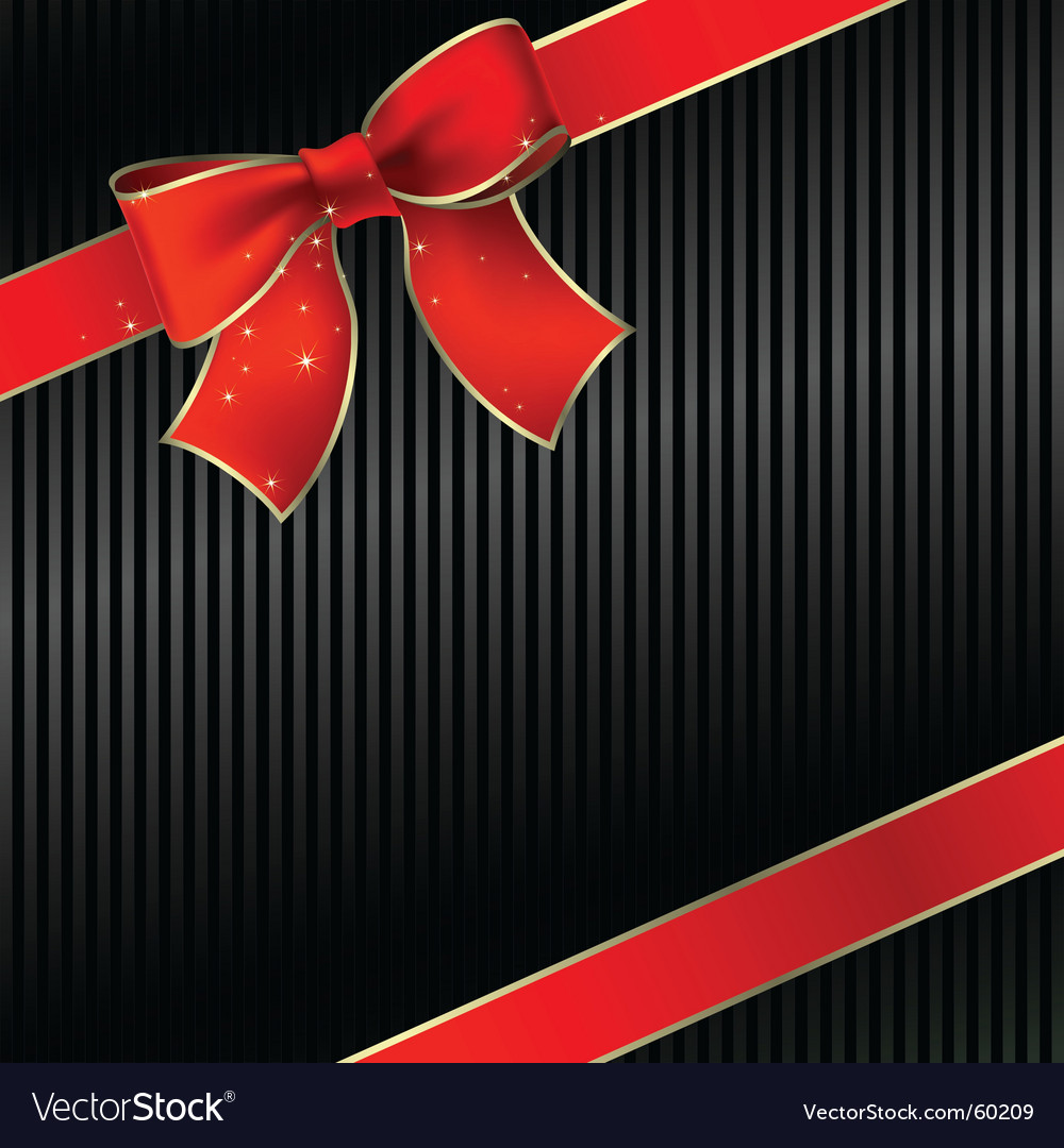 Celebrate bow vector | Price: 1 Credit (USD $1)