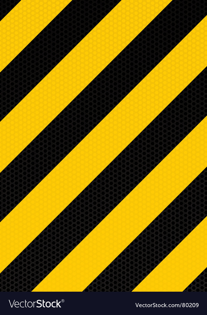 Traditional warning stripe vector | Price: 1 Credit (USD $1)