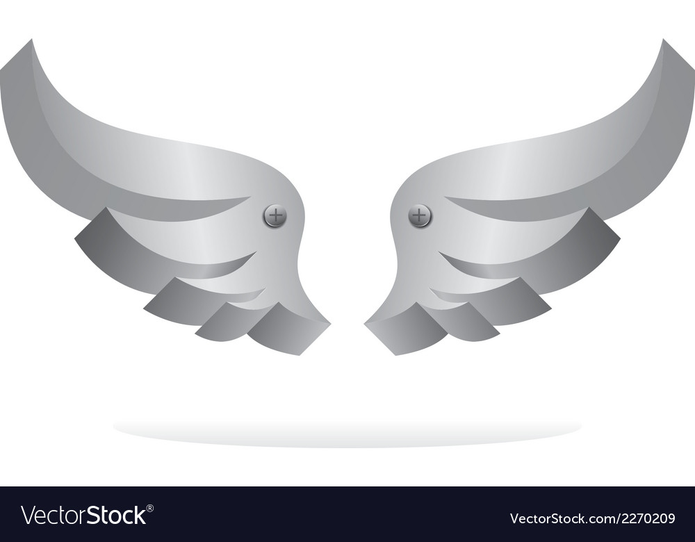 Wing art vector | Price: 1 Credit (USD $1)