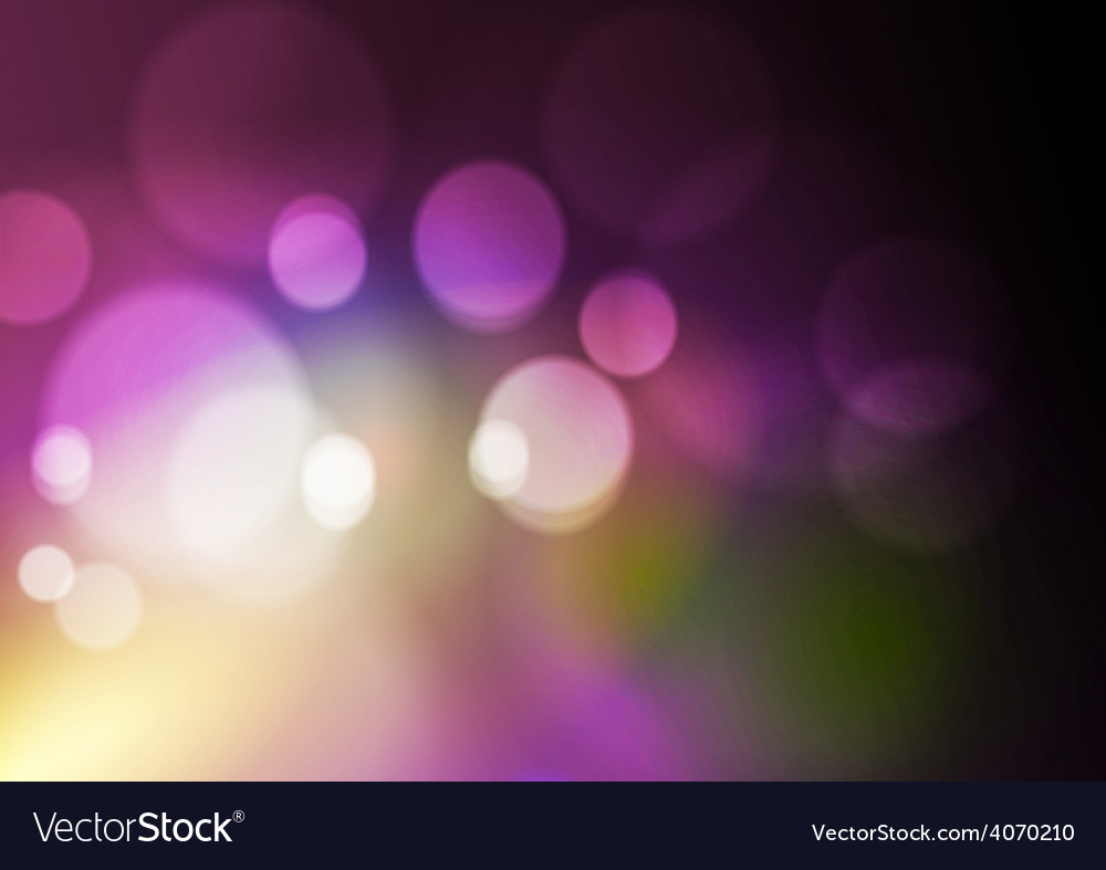 Abstract bokeh light background vector | Price: 1 Credit (USD $1)