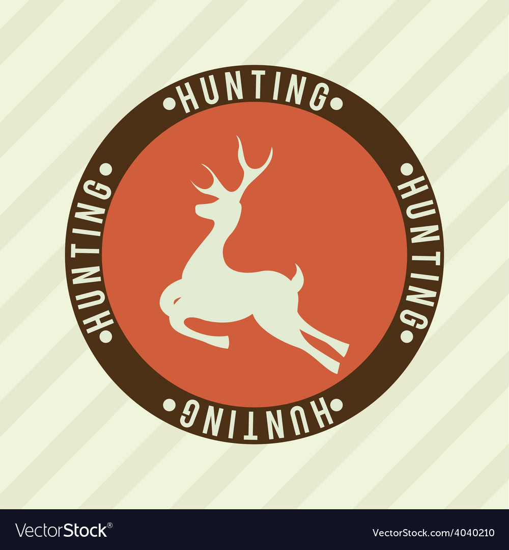 Deer signal vector | Price: 1 Credit (USD $1)