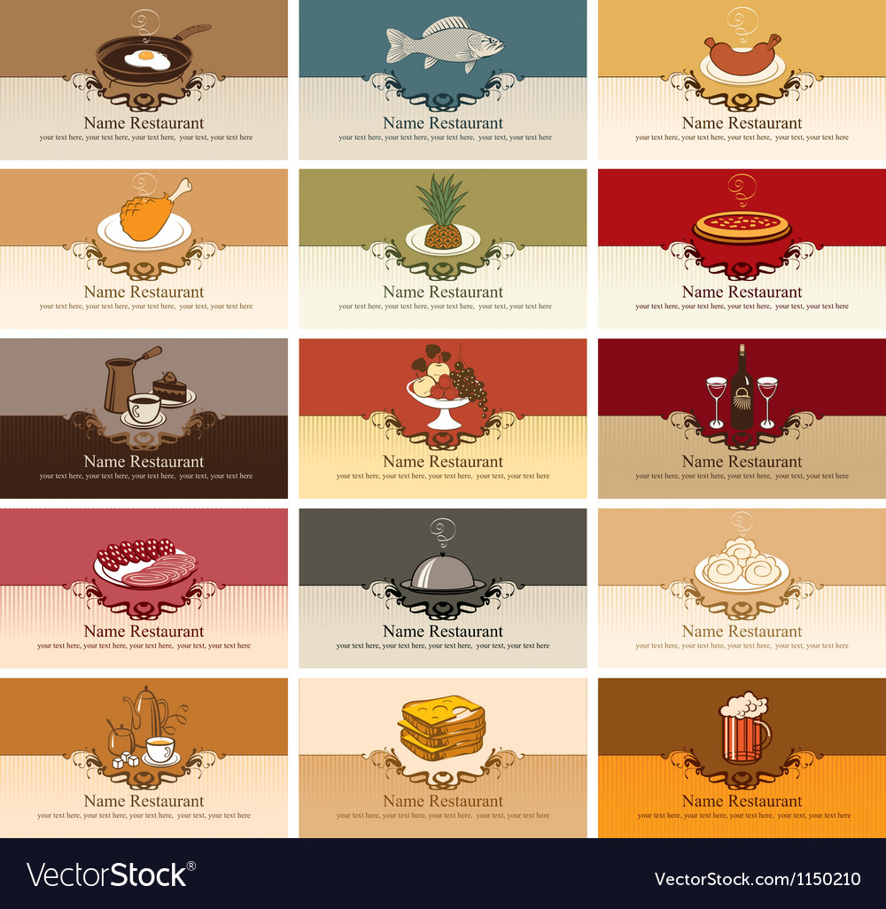 Different dishes vector | Price: 1 Credit (USD $1)