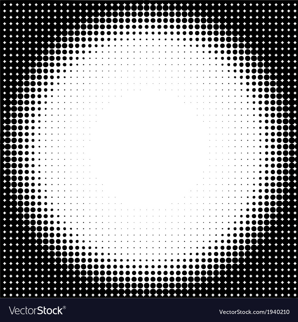 Halftone circle background vector | Price: 1 Credit (USD $1)