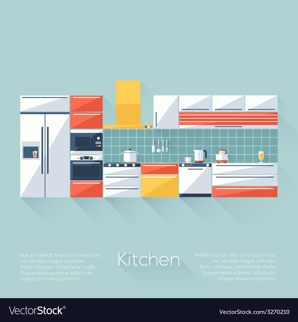 Kitchen cover vector | Price: 1 Credit (USD $1)
