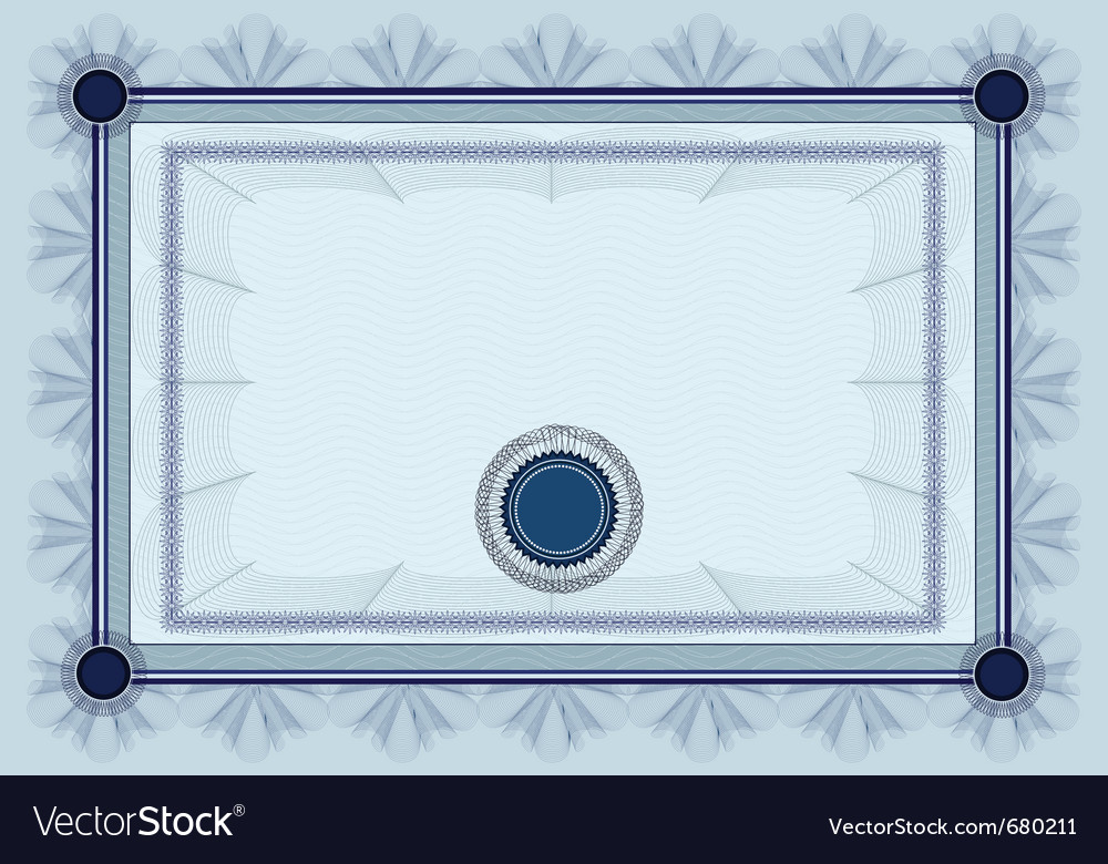 Certificate diploma vector | Price: 1 Credit (USD $1)