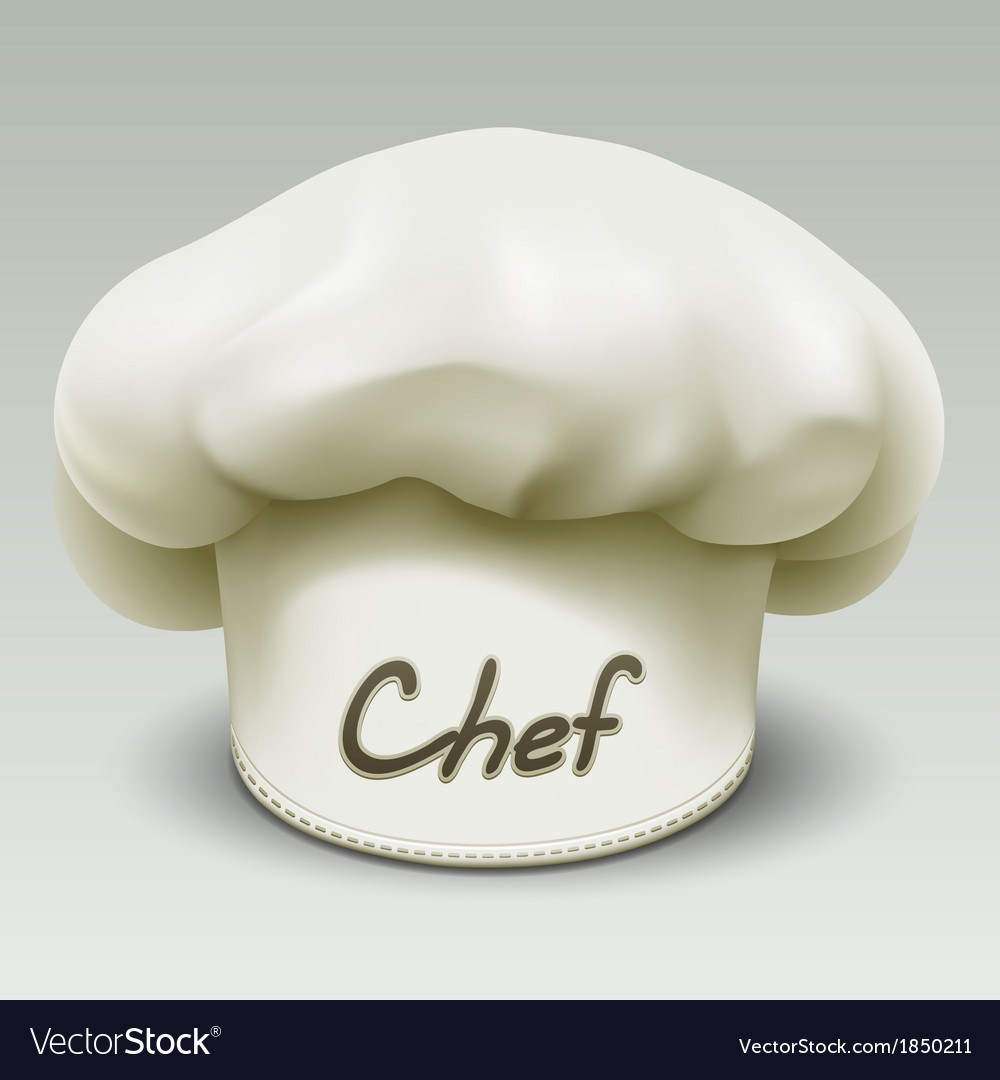Chef hat vector | Price: 3 Credit (USD $3)