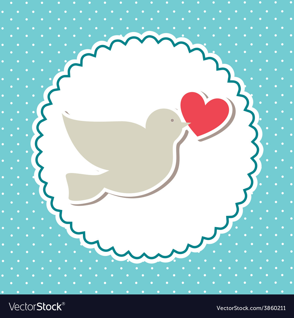 Love bird design vector | Price: 1 Credit (USD $1)