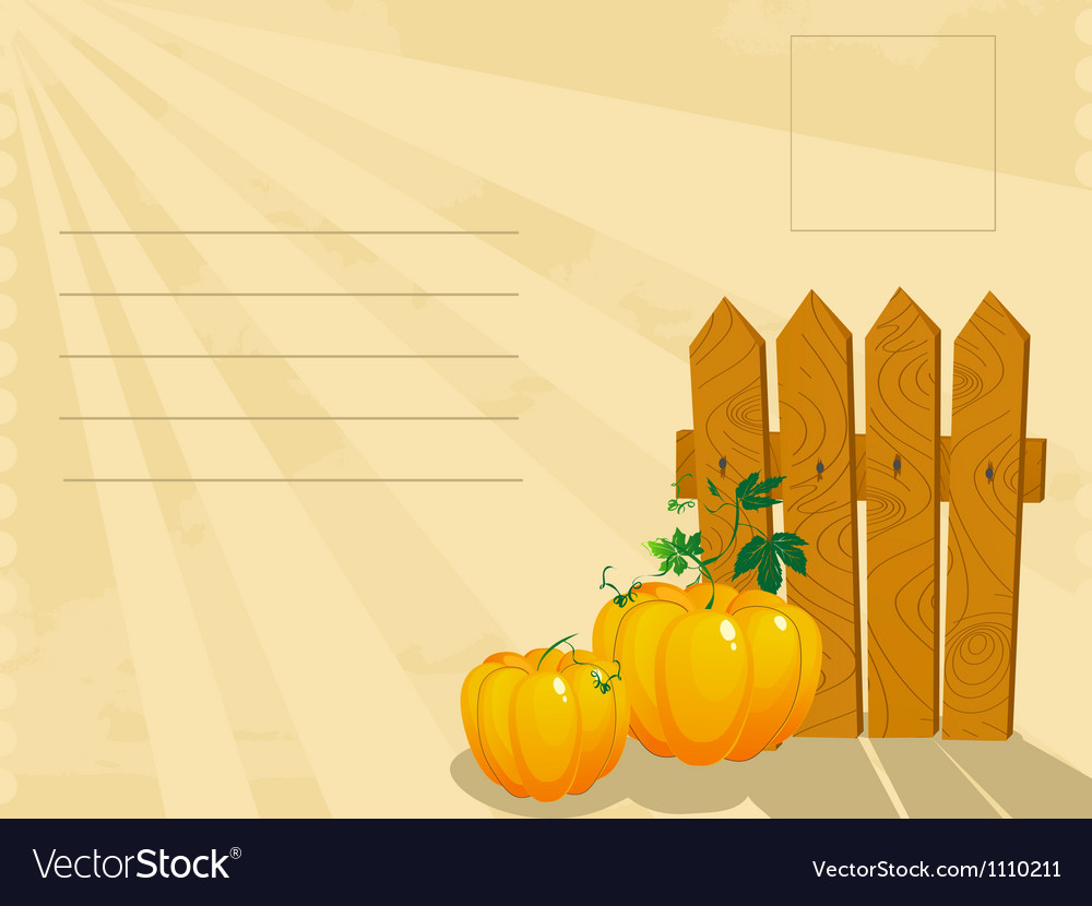 Thanksgiving day postage vector   Price: 1 Credit (USD $1)