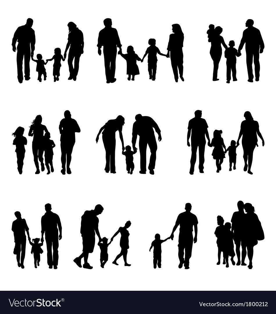 Families vector | Price: 1 Credit (USD $1)