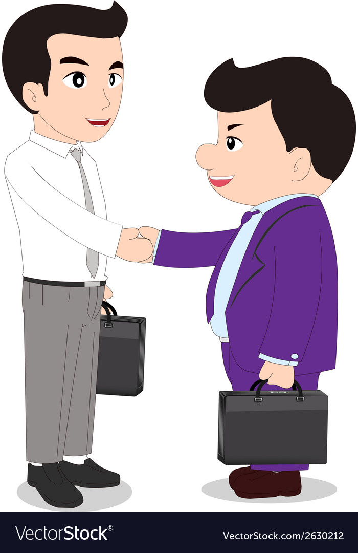 Special handshake vector | Price: 1 Credit (USD $1)